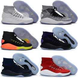 Wholesale Sneaker High Top China - 2016 new Hyperdunk 2016 Olympic wholesale Men Sneakers China High boots Top Meshs Green Casual Shoe Kids shoes Size 7-12