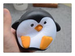 Canada 2018 Arrivée Jumbo Squishy Penguin Kawaii Animal Mignon Lent Rising Doux Parfumé Vent Charmes Pain Cake Enfant Jouet Poupée Cadeau Amusant Offre
