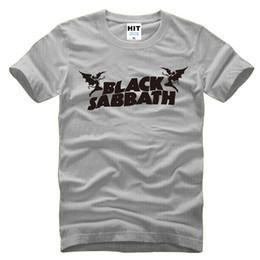 футболка оптом Скидка Оптовая продажа-Black Sabbath Classic Heavy Metal Rock мужская футболка Футболка для мужчин 2016 Новый o шеи хлопок топ тройник Camisetas Hombre