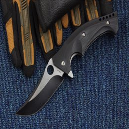 Wholesale Knife Hrc - New Hunting Knife Self Defence Tactical Pocket Knife C196 CPM S30V Ball Bearing System 58 HRC Models Steel Camping Survival Folding Knifes O