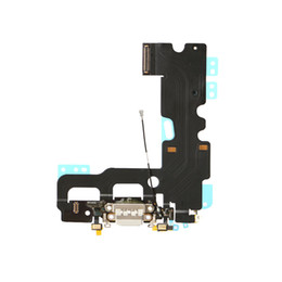 Wholesale Usb Charging Connector Port - 50PCS New USB Dock Connector Charging Port Charger Flex Cable for iPhone 7 Plus free DHL