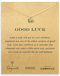 Wholesale Factory Series - Factory Wholsale Lucky Cute 18K Gold Plated Elephant Series Of Pendants Choker Necklace Weeding Jewelry Women Chain Free Shipping