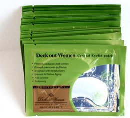 Wholesale Collagen Crystal Eyelid Patch - 2017 Crystal Collagen Eye Peels Women Crystal Eyelid Patch Anti-wrinkle Crystal Eye Mask Remove Eye Dark Circles Moisturizing