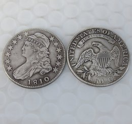 Wholesale Nice Caps - 1810 CAPPED BUST HALF DOLLAR COIN COPY Promotion Cheap Factory Price nice home Accessories Silver Coins