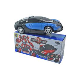 Juguete del coche del coche de la deformación del envío gratis Conversión automática Música ligera Juguetes eléctricos de los niños desde fabricantes