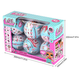 Wholesale Egg Matching Toy - 6pcs L.Q L. Surprise Doll Magic Eggs Funny Removable Egg Doll Toy with Mix&Match Accessories Hatching Eggs Novelty Funny Toys