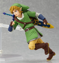 Wholesale Toy Anime Sword - Anime legend about Zelda reference from the sky sword Figma 153 pvc figurines collection model children's toy dolls