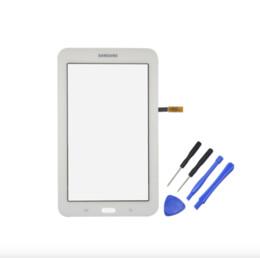 2019 дигитайзер для планшета samsung Новый дигитайзер для Samsung Galaxy Tab3 7.0 T110 wifi Tablet сенсорный экран сенсорный дисплей Tab 3 Lite 7.0 SM-T110 Wifi T110 скидка дигитайзер для планшета samsung