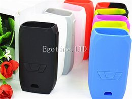 Wholesale Mod Bags - Silicon case protective skin sleeve bag wrap for Vaporesso Revenger 220W TC Box MOD 0.96 Inch OLED Display Temperature Control Mod