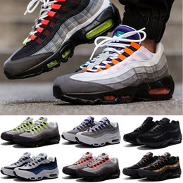 Wholesale Plus Size Rubber Boots - 2016 Plus Christmas Winter 95 Cushion 95 Sneakers Boots Authentic Maxes 95 Walking Outdoor Sports Shoes Size Eur 36-46