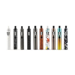 Wholesale New E Cig Batteries - Joyetech eGo AIO Kit with 2ml Capacity and 1500mAh Battery E cigarette e cig Kits 100% Original New Version