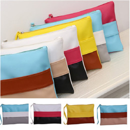 Wholesale Types Clutch Bags - Wholesale - New Storage Bags Mini Cosmetic Bag Waterproof Nylon Bags women Clutch Bags Multicolor Select IA041