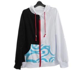 Wholesale Gintoki Cosplay Costume - Wholesale-Anime Silver Soul Cosplay Costumes Hoodies Gintama Sakata Gintoki Hooded Coats Unisex Casual Sweatshirt Jackets Size S-XXL
