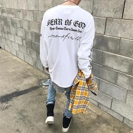 Wholesale Star T - Fear Of God T-Shirt Justin Bieber 100% Cotton Skull T Shirts Streetwear Punk Rock Star Ghost Tee Concert Brand Tshirt