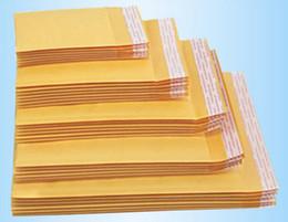 Wholesale Pad 11 - Kraft Bubble Mail Padded Envelopes Wrap Bag Pouches Packaging PE Bubble Bags 9*13cm 11*15cm 12*16cm 12*18cm 13*13cm Free Shipping 0474WH