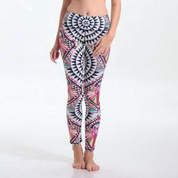 Wholesale Womens Compression Pants - Yoga Pant Womens Compression Running Leggings Women Gym Running Print Workout Pants Fitness Yoga Pants