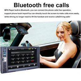 Wholesale Tablet Inch Car - 6.6 Inch Car Audio Stereo MP5 Player FM Radio HD Touch Digital Screen with USB Bluetooth Support Phone Tablet Connected GPS CMO_21I