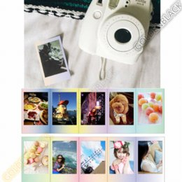 Wholesale Fuji Instax Mini 7s Film - Original Fujifilm Fuji Instax Mini 8 MACAROON Film 10 Sheets For 8 50s 7s 90 25 Share SP-1 Instant Cameras New arrive