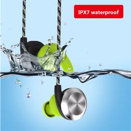 schwimmen kopfhörer bluetooth Rabatt U2 Wireless Waterproof im Ohr HIFI Kopfhörer Sports Headset Bluetooth 4.1 mit Mikrofon und hoher Qualität Stereo IPX7 für Schwimmen läuft