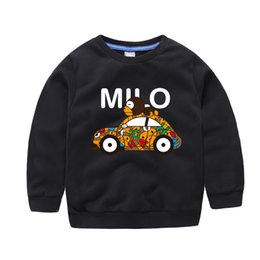 Wholesale baby boys tshirts - 2017 New 18m-10T Children Boys Tops Kids Clothes Long Sleeve Tshirts Cartoon T-Shirts Baby T shirt Clothing