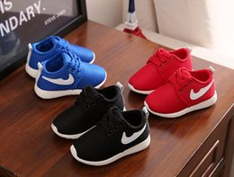 Wholesale Baby Appliques - Classic Style Spring New Fashion Children Shoes Running Boys And Girls Toddler Shoes Baby Kids Sneakers 2-10Years