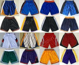 Wholesale Browning Sweatpants - 2017 Basketball Shorts Cheap 2 Kyrie Irving 1 Tracy McGrady 2 Kawhi Leonard Short Pant Men Sweatpants 0 Russell Westbrook 33 Larry Bird