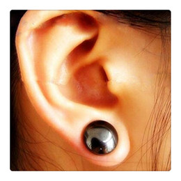 Wholesale Magnetic Weight Loss - Magic Earrings Magnetic Healthcare Earring Weight Loss Earrings Slimming Ear Healthy Stimulating Acupoints Stud Earring Magnetic Therapy