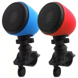 Wholesale Water Proof Mp3 Speakers - 343 Bike Wireless Bluetooth Speaker Stereo Bicycle Cycling Shockproof Water Proof Riding Hand Free With Mic Subwoofer HIFI Outdoor Recharge