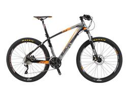 Wholesale Full Carbon Mtb 29 - SAVA DECK700 Carbon Fiber MTB Mountain Bike 26 27.5 29 22 Speed Bicycle Carbon frame Deore XT Group sets manitou full suspension mtb