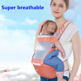 Wholesale Lap Bags - Multi-function breathable baby strap lap summer summer breathable newborn baby bag shoulder holding stool, detachable strap
