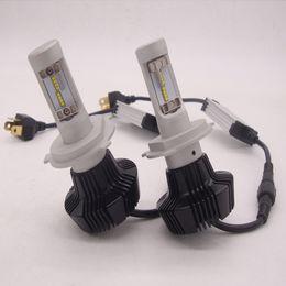 Wholesale Xenon Kit Cars - 160W 16000LM CREE LED HEADLIGHT H1 H4 H7 H10 H11 9005 9006 6000K white Auto Conversion Car LED Kit Replace Halogen xenon