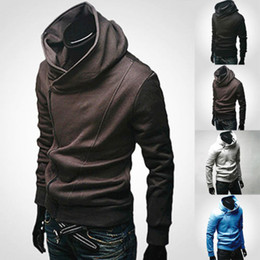 assassin s creed hoodie Promo Codes - Wholesale- New Stylish Creed Hoodie Slim Men's Assassins Jacket Fashion Jacket Costume Men's Winter Clothing Hot