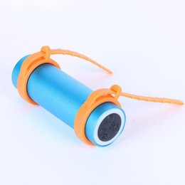 Wholesale Mp3 Ipx8 4gb - Wholesale- 2017 Newest Waterproof MP3 Player Built-in 4GB Sport Music Media Players IPX8 Swimming Water Sports With FM Radio Headphone Gift