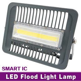 Wholesale Ip66 Led Driver - Wholesale-LED Flood Light IP65 WaterProof 30W 50W 70W 100W 150W 220V Smart Driver Flood Light Spotlight Outdoor DIY Cold White Warm White