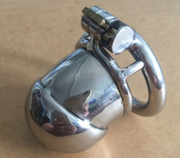 Wholesale Chasity Cock Cages - Male Chastity Devices Cock Lock Chasity Cage New Lock Design Chastity Devices For Men Male Chastity Delt