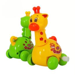 Enrole Animal Criança Criança Girafa Brinquedos Criança Presente Desenvolvimento Educacional A00026 FASH de Fornecedores de venda por atacado de brinquedos de estanho