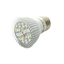 Wholesale E14 Plant - Full Spectrum 28W E14 E27 GU10 LED Grow Light AC85-265V LED Growing Lamp Plant Light Free Shipping & Wholesale