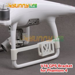 Wholesale Head Tracker - Wholesale- V16 GPS Tracker Holder Mount Fixing Seat Bracket for DJI Phantom 4