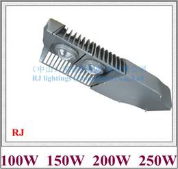 Wholesale Industrial Module - Epistar COB LED street light lamp LED road light IP65 100W   150W   200W   250W AC85V-265V aluminum module style RJ-LS-G