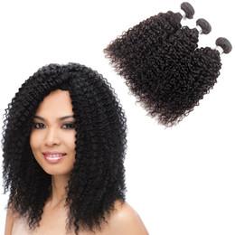 Wholesale Very Curly Hair - Hot Sale 8-28 Inch Unprocessed Virgin best Brazilian Hair, Cheap human Hair Bundles Very Cheap Hair Extensions