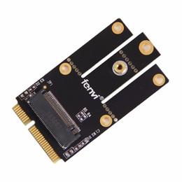 Mini pci e adattatore wireless online-All'ingrosso-Nuovo M.2 NGFF Chiave da A a Mini PCI-E Adattatore PCI Express Wireless Card Adapter