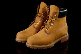 Wholesale Grain Wheat - 2017 Men Women Fashion Classic 10061 Wheat Yellow TBL Boots Retro Waterproof Shoes Outdoor Good Quality Casual Sneakers Size 36-44