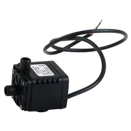 Wholesale Submersible Electric 12v Pump - Wholesale-Free Shipping Ultra-quiet DC 12V 3M 240L H Brushless Submersible Water Pump High Qualtiy mini electric submersible water pump~