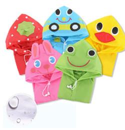 5 cores modelo animal das crianças capa de chuva capa de chuva capa de chuva crianças à prova d 'água casacos crianças dos desenhos animados modelo animal capa de chuva de