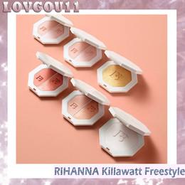 Wholesale Palette Metal - Fenty Beauty By Rihanna Killawatt Freestyle Highlighter Palette 6 Colors kit TROPHY WIFE Metal Moon LIGHTNING DUST FIRE CRYSTAL DHL 660231-1
