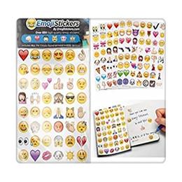 emoji iphone Promo Codes - Cute 912 Emoji Stickers 19 Sheets Most Popular Emojis Stickers For IPhone IPad Android Phone Facebook Twitter Instagram Facial Free Shipping