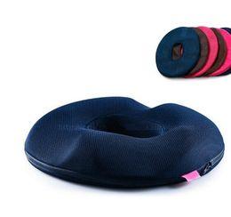 Wholesale Memory Foam Seat Cushion Black - Cute & comfortable Coccyx Foam Doughnut Seat Cushion for Car and Office