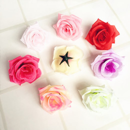 Wholesale Sunflower Display - DIY decoration flowers real touch mini rose camellia flower bud artificial flowers wedding party display flower