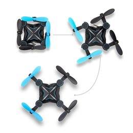 Wholesale Remote Control Planes Kids - 901HS Mini Wifi RC Drone HD Camera Remote Control Kids Toys 360 Rolling 2.4G 6-axis RC Quadcopter Helicopter Aircraft Plane Toy