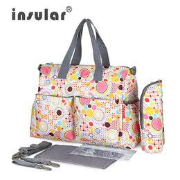 Wholesale Mother Bag Mummy - Wholesale-Colors Waterproof Diaper Storage Bag Functional Maternity Backpack Baby Nappy Changing Mummy Bags Travl Mother With Big Capacity